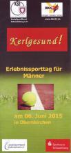 Erlebnissporttag für Männer am 06.06.2015 in Obernkirchen