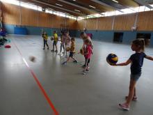 """""""Wir spielen Volleyball"""" Teil der Bückeburger Ferienaktion 2019"""