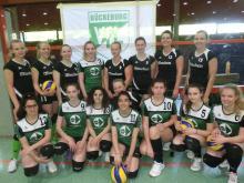 1. +2. Damenmannschaft des VfL Bückeburg beim 6. Speedvolleyballturnier in Bückeburg